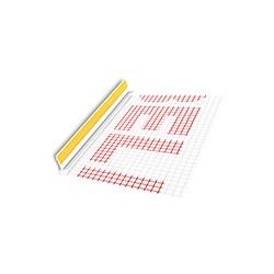 BP13 MINI L250 BU LISTWA PRZYOKIENNA Z SIATKĄ BEZ USZCZELKI 6mm/3mm
