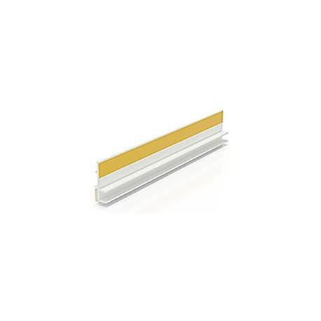 BP12 LISTWA PRZYOKIENNA PVC Z USZCZELKĄ 9mm/6mm