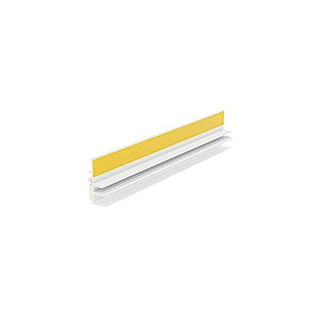 BP12 MIDI LISTWA PRZYOKIENNA PVC Z USZCZELKĄ 9mm/3mm