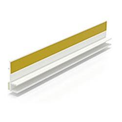 BP12 MINI LISTWA PRZYOKIENNA PVC BEZ USZCZELKI 6mm/3mm