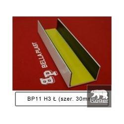 BP11 H3 Ł – łącznik PCV wzdłużne do boni Bella Plast